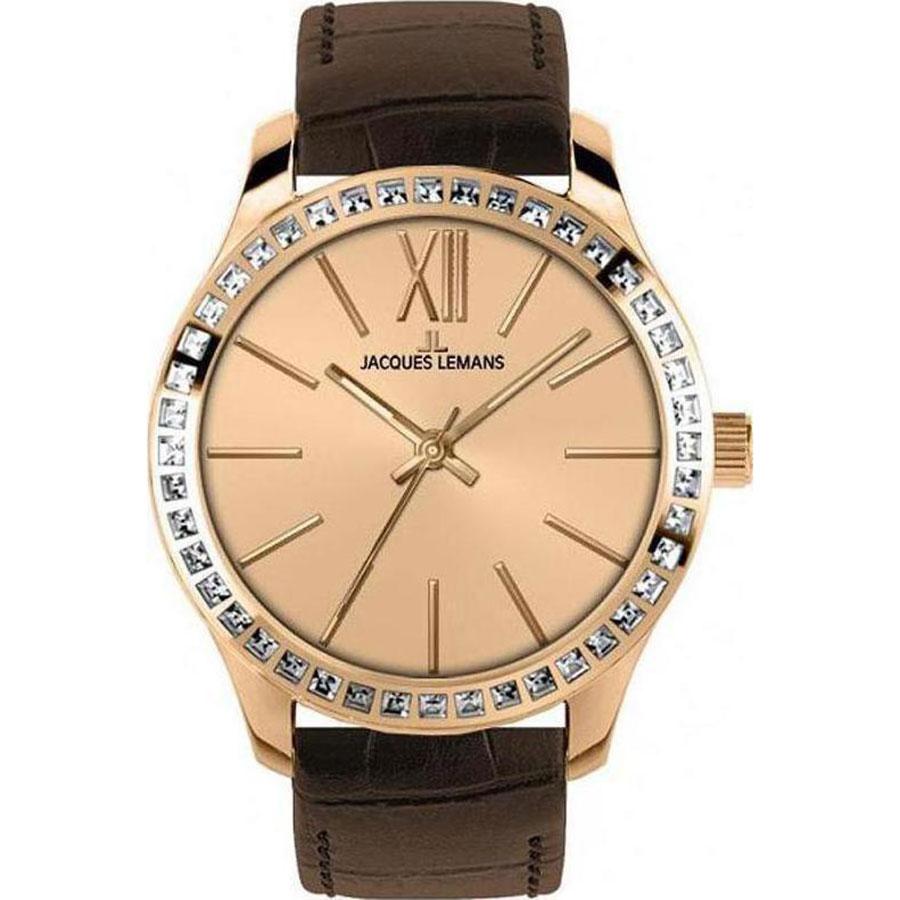 کد تخفیف                                      ساعت مچی عقربه ای زنانه ژاک لمن مدل 1-1841D