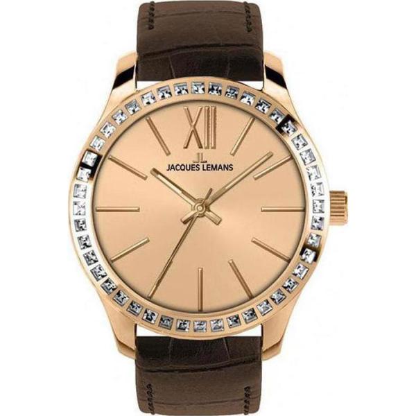 ساعت مچی عقربه ای زنانه ژاک لمن مدل 1-1841D