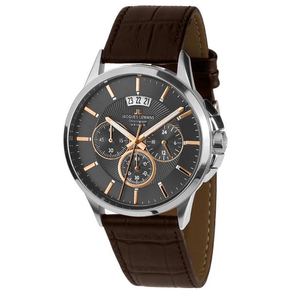 ساعت مچی عقربه ای مردانه ژاک لمن مدل 1-1542H