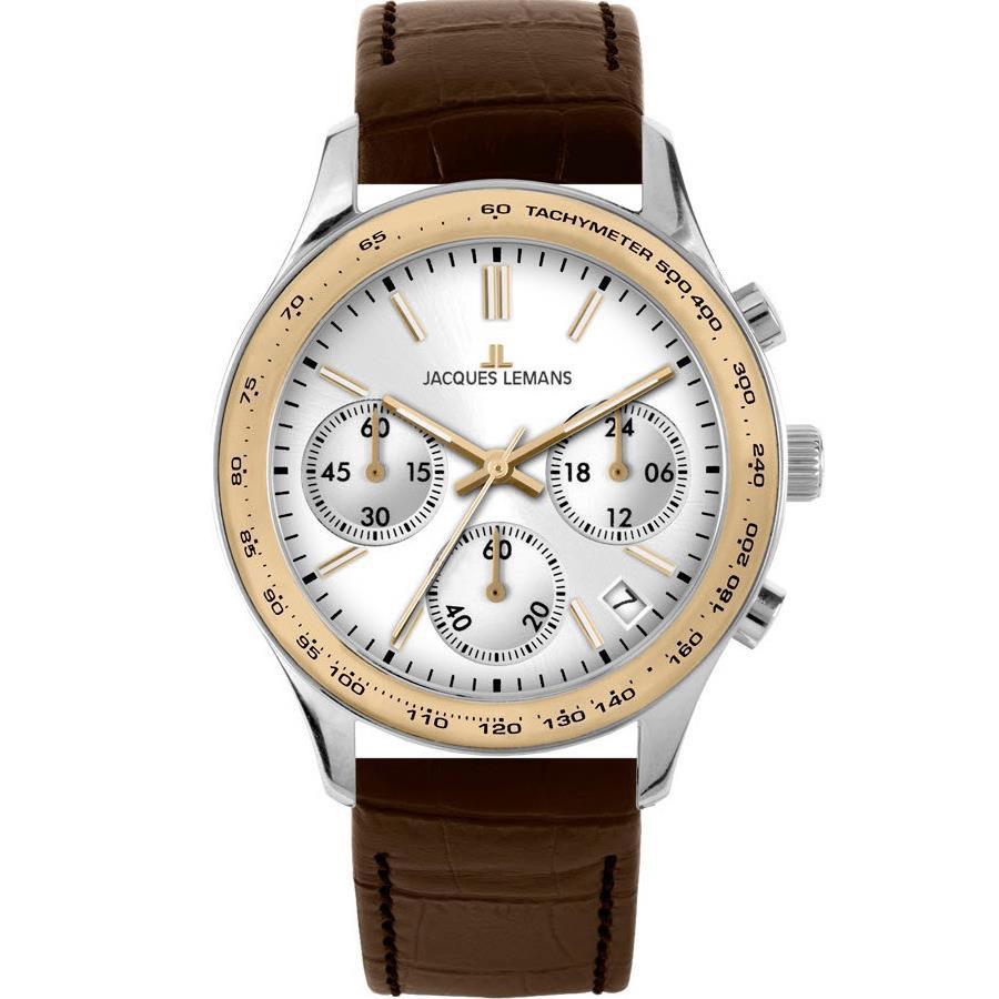 ساعت مچی عقربه ای مردانه ژاک لمن مدل 1-1586ZC 52