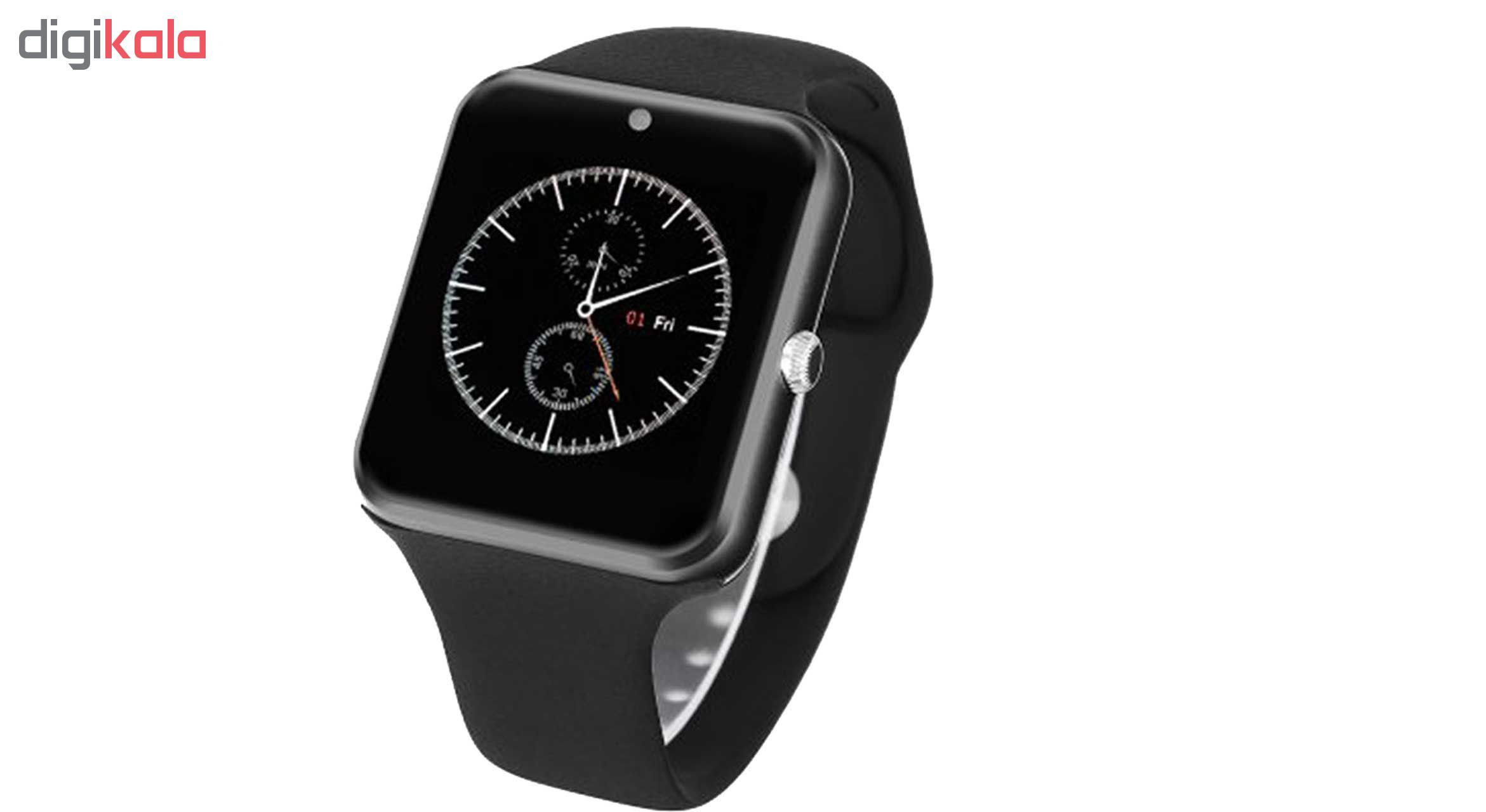 خرید ساعت هوشمند مدل Q7sp همراه محافظ صفحه نمایش شیدتگ