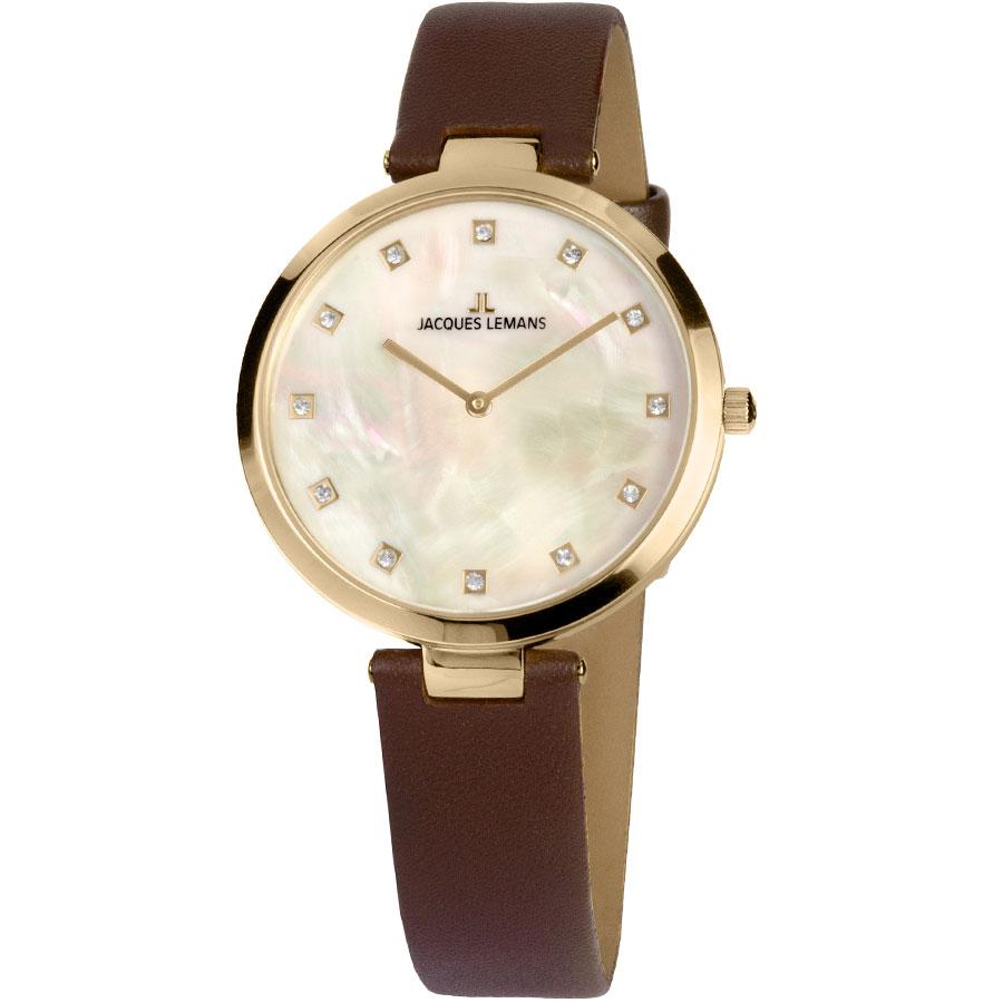ساعت مچی عقربه ای زنانه ژاک لمن مدل 1-2001B