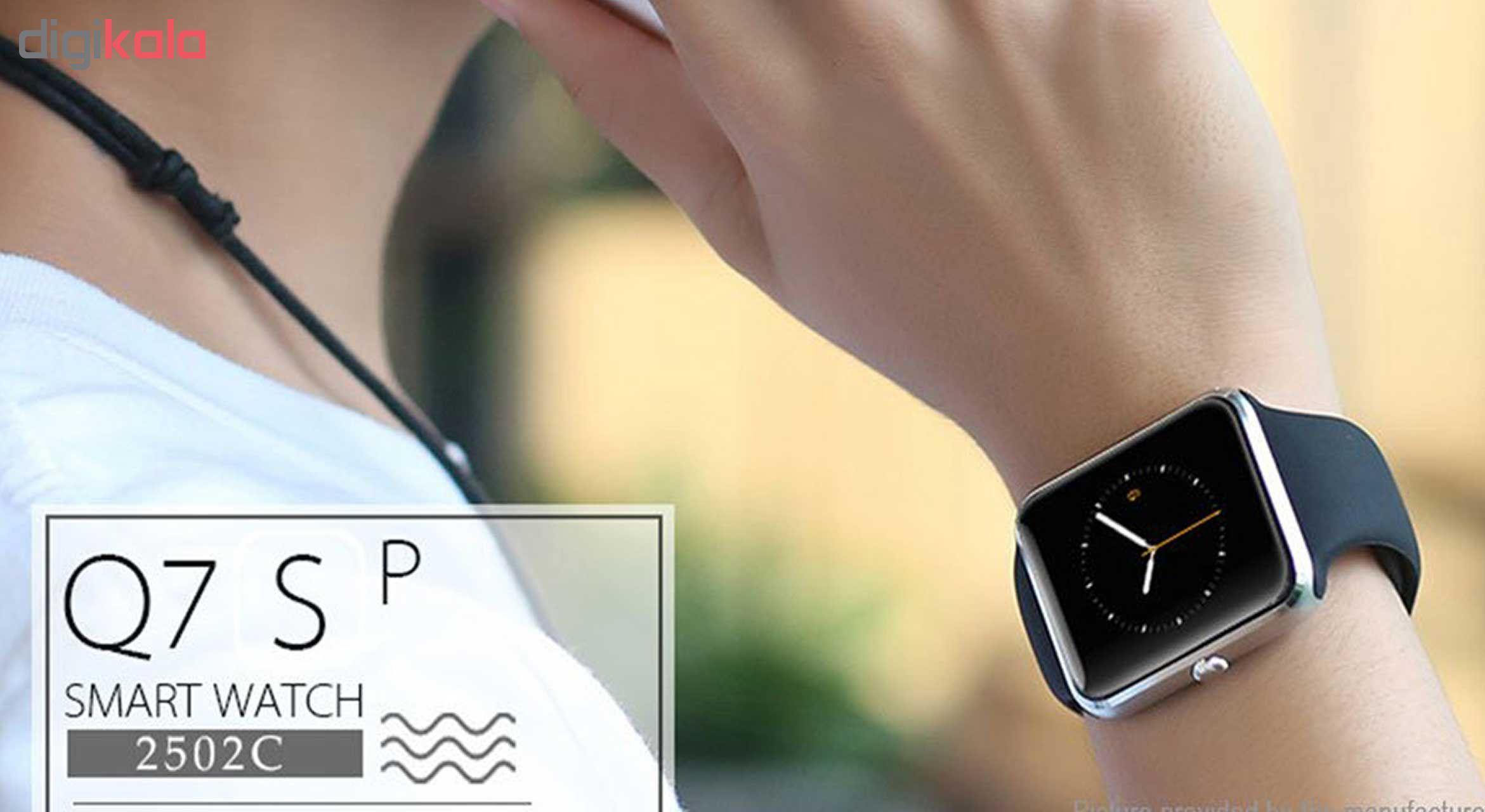 ساعت هوشمند مدل Q7sp همراه محافظ صفحه نمایش شیدتگ main 1 11