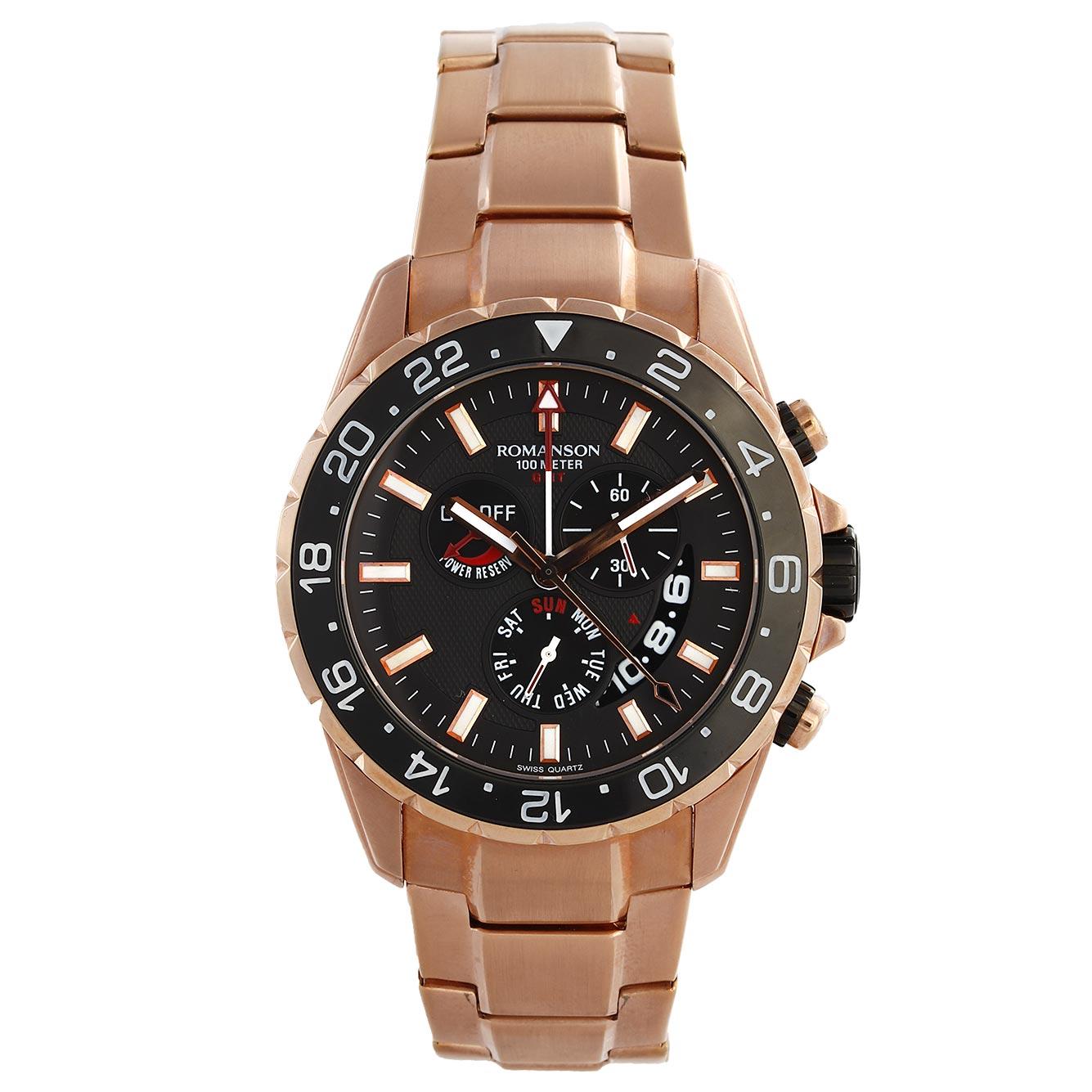 ساعت مچی عقربه ای مردانه رومانسون مدل AM0340BM1RA36R