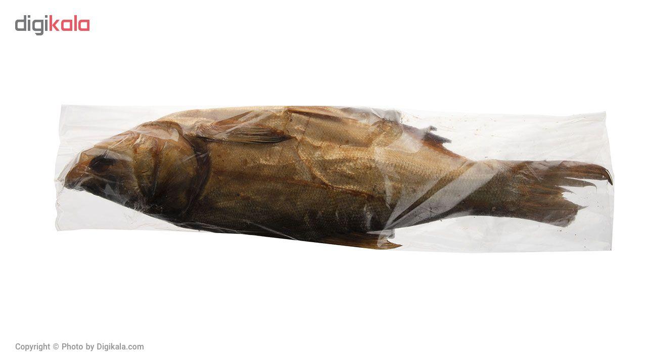 ماهی کپور نقره ای دودی کیان ماهی خزر بسته 1 عددی