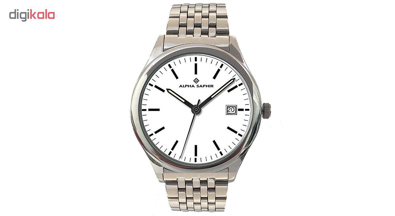 کد تخفیف                                      ساعت مچی عقربه ای مردانه آلفا سفیر مدل 310G