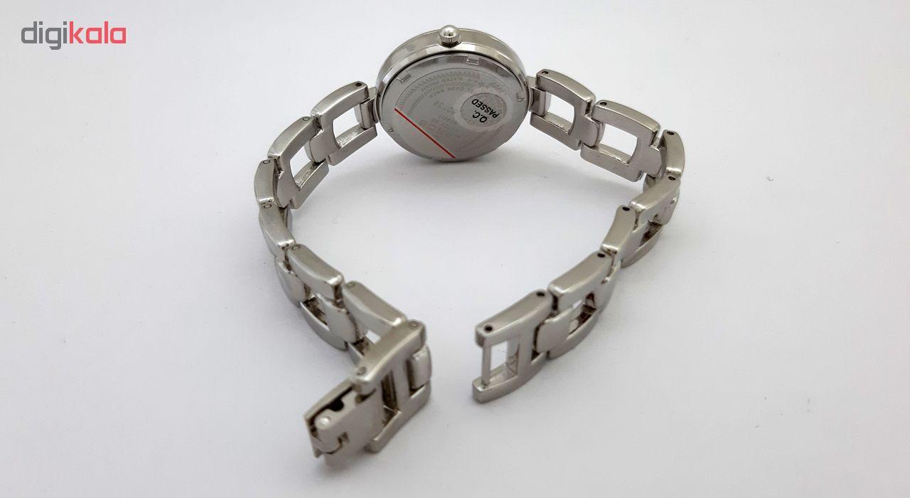 کد تخفیف                                      ساعت مچی عقربه ای زنانه لاروس مدل 1117-80138 به همراه دستمال مخصوص برند کلین واچ