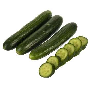خیار گلخانهای دستچین مقدار 1 کیلوگرم - (حداقل 7 عدد)