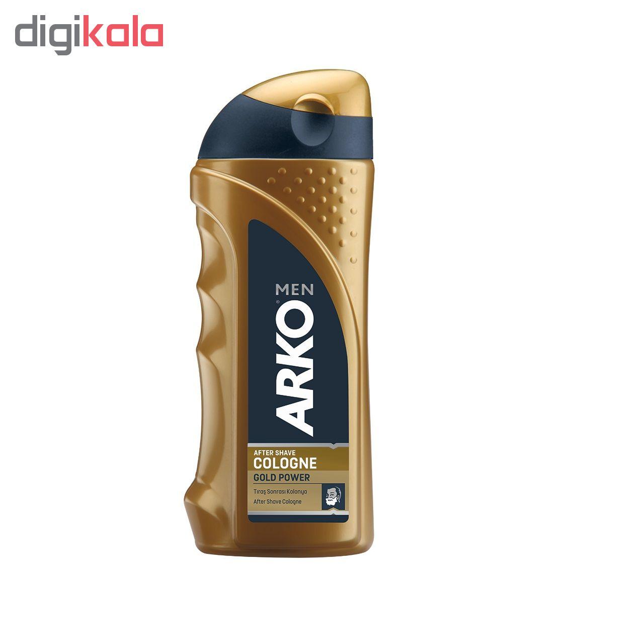 خرید                      افتر شیو آرکو من مدل Gold Power حجم 250 میلی لیتر              ✅