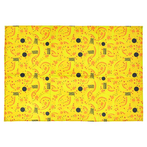 فرش پارچه ای گوشه سایز یک متر کد 02