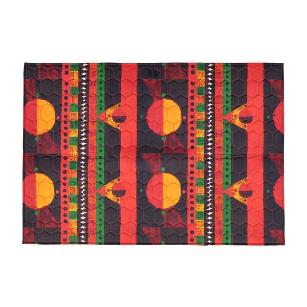 فرش پارچه ای گوشه سایز یک متر کد 34