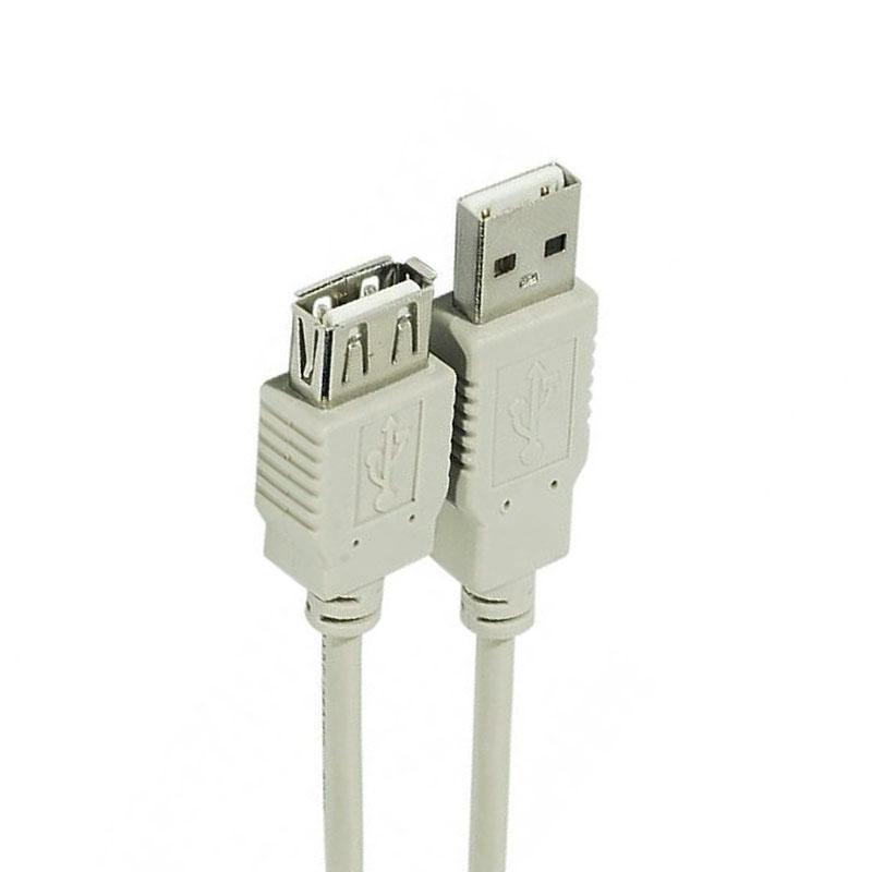 کابل افزایش طول USB.2 مدل  zex-1 طول 3 متر