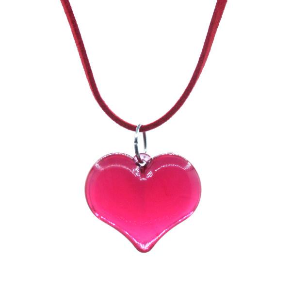 گردنبند دخترانه طرح قلب کد NEC201
