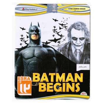 بازی Batman Begins مخصوص پلی استیشن 2