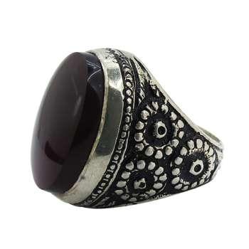 انگشتر نقره مردانه کد A1500