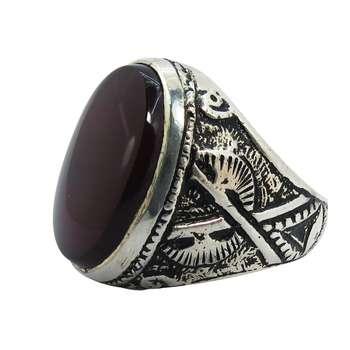 انگشتر نقره مردانه کد A۱۵۰۹