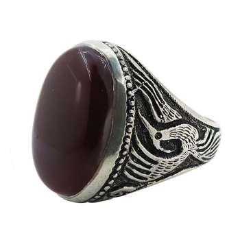 انگشتر نقره مردانه کد A۱۵۱۲