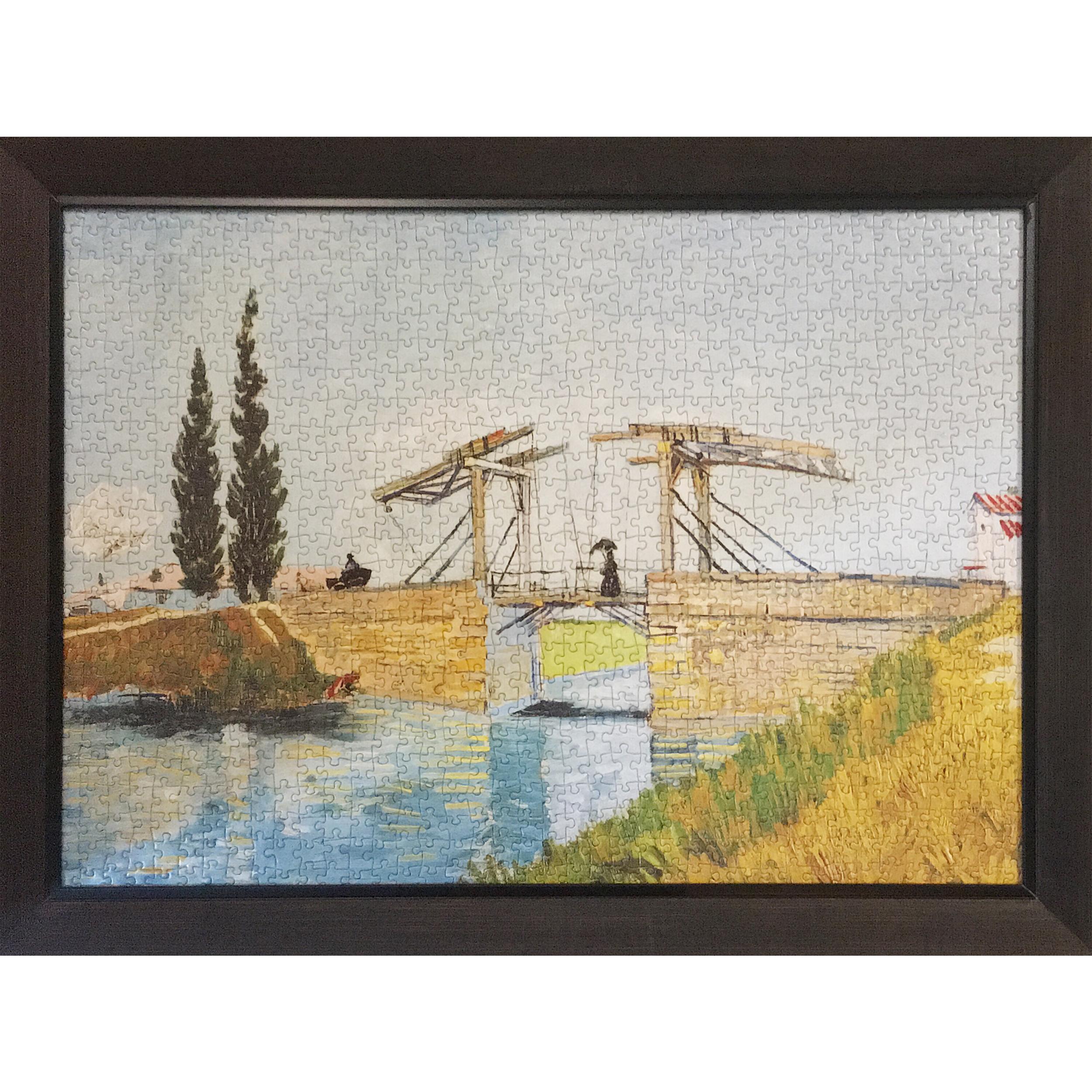 تابلو پازل 1000 تکه مدل The Langlois Bridge Van Gogh