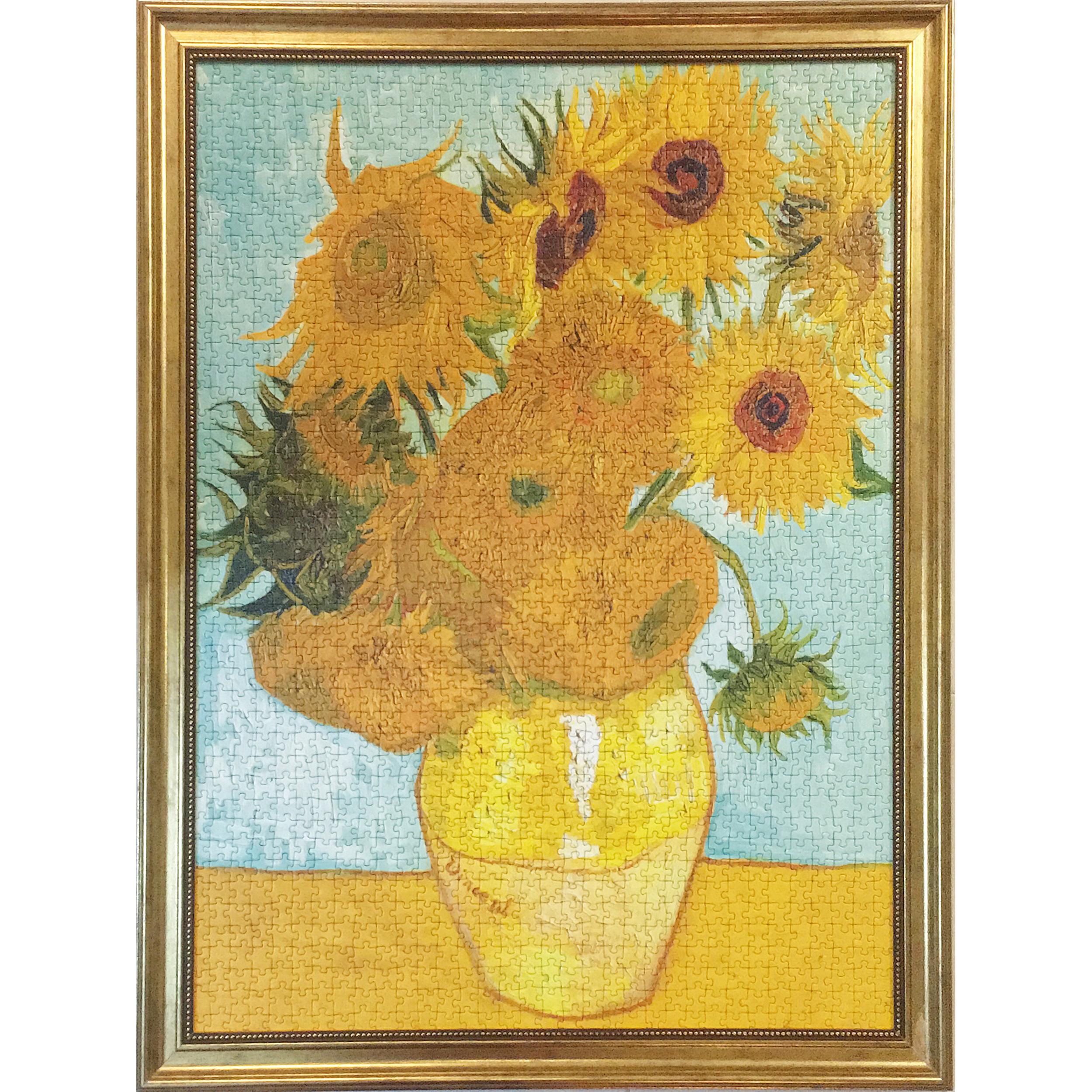 تابلو طرح پازل 1500 تکه راونزبرگر مدل Sunflowers Van Gogh