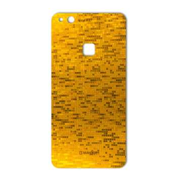 برچسب پوششی ماهوت مدل  Gold-pixel Special مناسب برای گوشی Huawei P10 Lite