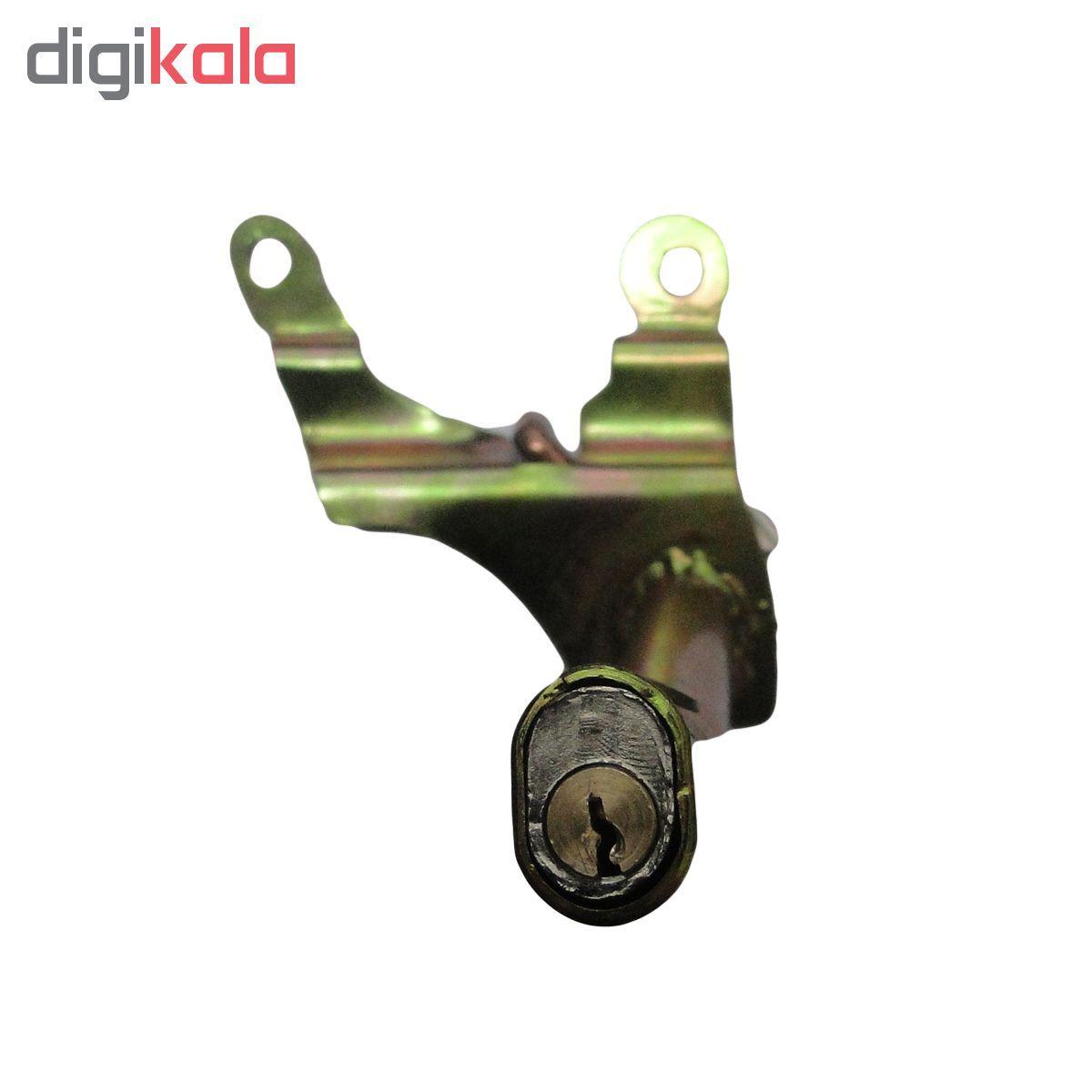 قفل کاپوت ضد سرقت آرمین مدل RADFAR 5964 مناسب برای پژو 206 main 1 2