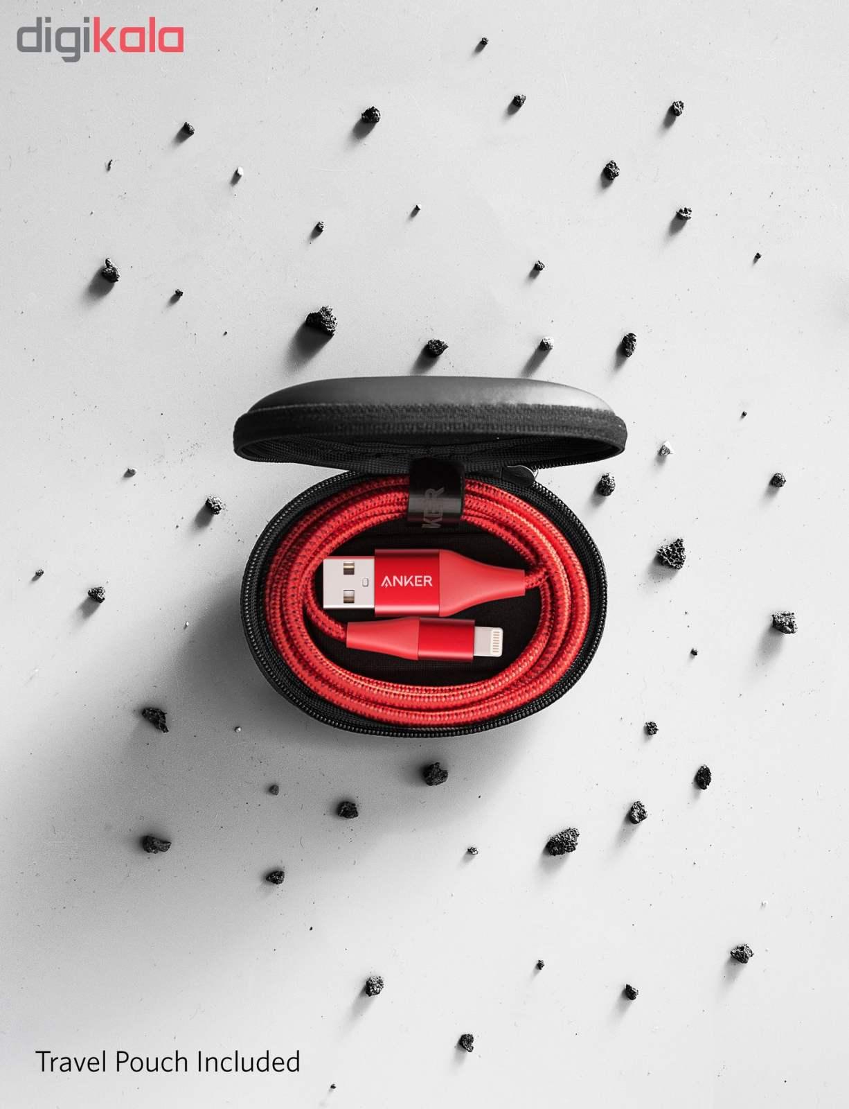 کابل تبدیل USB به لایتنینگ انکر مدل A8452 PowerLine II Plus طول 0.9 متر main 1 5