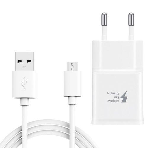 شارژر دیواری  مدل ep-ta200wew به همراه کابل تبدیل USB به microUSB مدل ep-q8 طول 1.2 متر