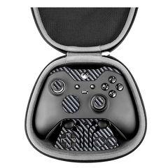 برچسب ماهوت مدل Silver Shine-carbon مناسب برای دسته کنترل بازی مایکروسافت Elite Xbox One controller