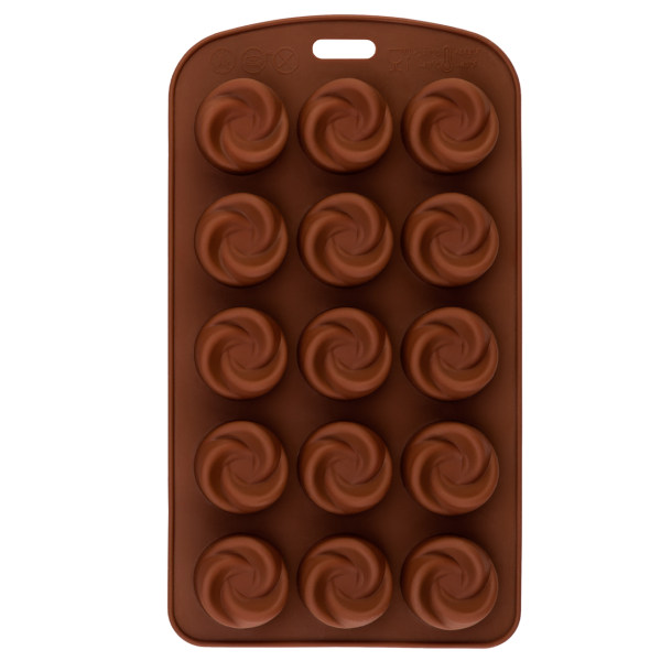 قالب شکلات نیلوفر مدل ورتکس