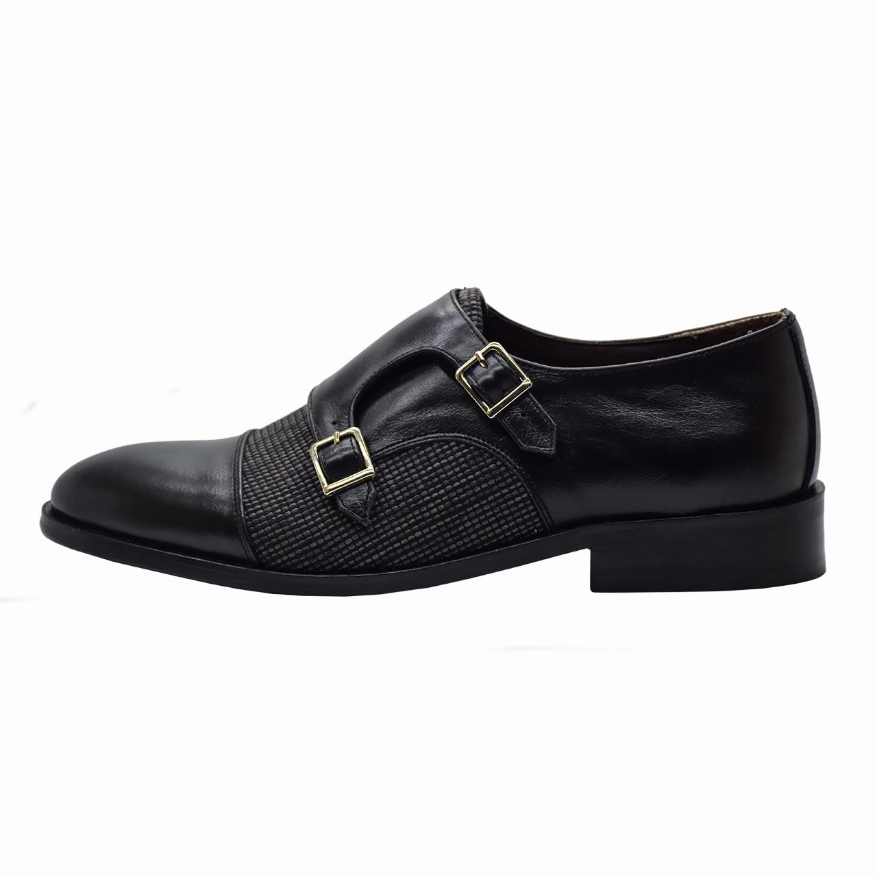 کفش مردانه رسا چرم کد 210