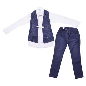 ست 3 تکه لباس دخترانه مدل MA-ESPI51165