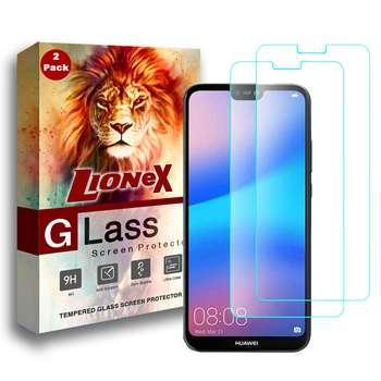 محافظ صفحه نمایش لایونکس مدل UPS مناسب برای گوشی موبایل هواوی P20 lite / Nova 3e بسته دو عددی
