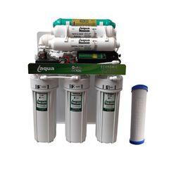 دستگاه تصفیه کننده آب آکوا مدل اکونومیک به همراه فیلتر تصفیه کننده مدل AQE 5