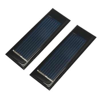 پنل خورشیدی مدل Ak25 ظرفیت 130 میلی آمپر مجموعه 2 عددی