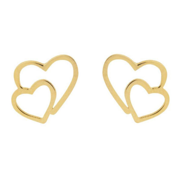 گوشواره طلا 18 عیار زنانه کانیار گالری کد GOA4