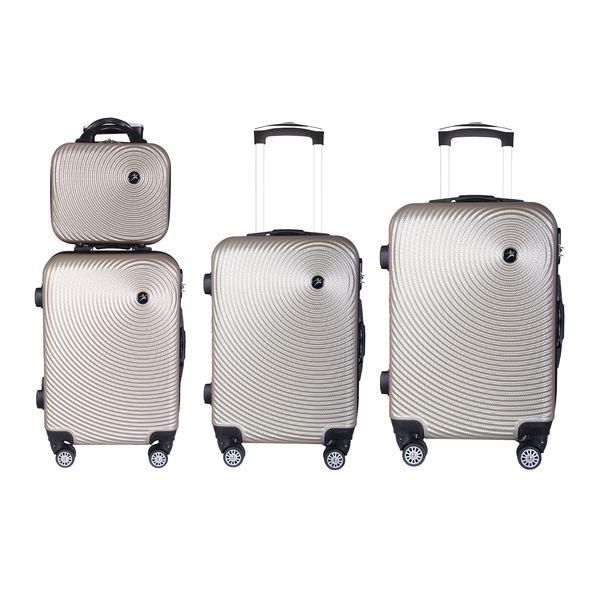 مجموعه چهار عددی چمدان اسپرت من مدل NS001