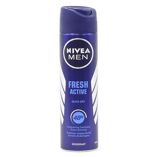 اسپری ضد تعریق مردانه نیوآ مدل FRESH ACTIVE QUICK DRY حجم 150 میلی لیتر