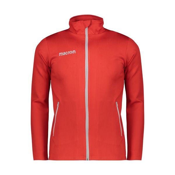 سویشرت ورزشی مردانه مکرون مدل نمسیس رنگ قرمز