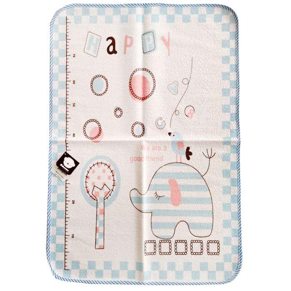 زیرانداز تعویض نوزاد طرح فیل مدل 003