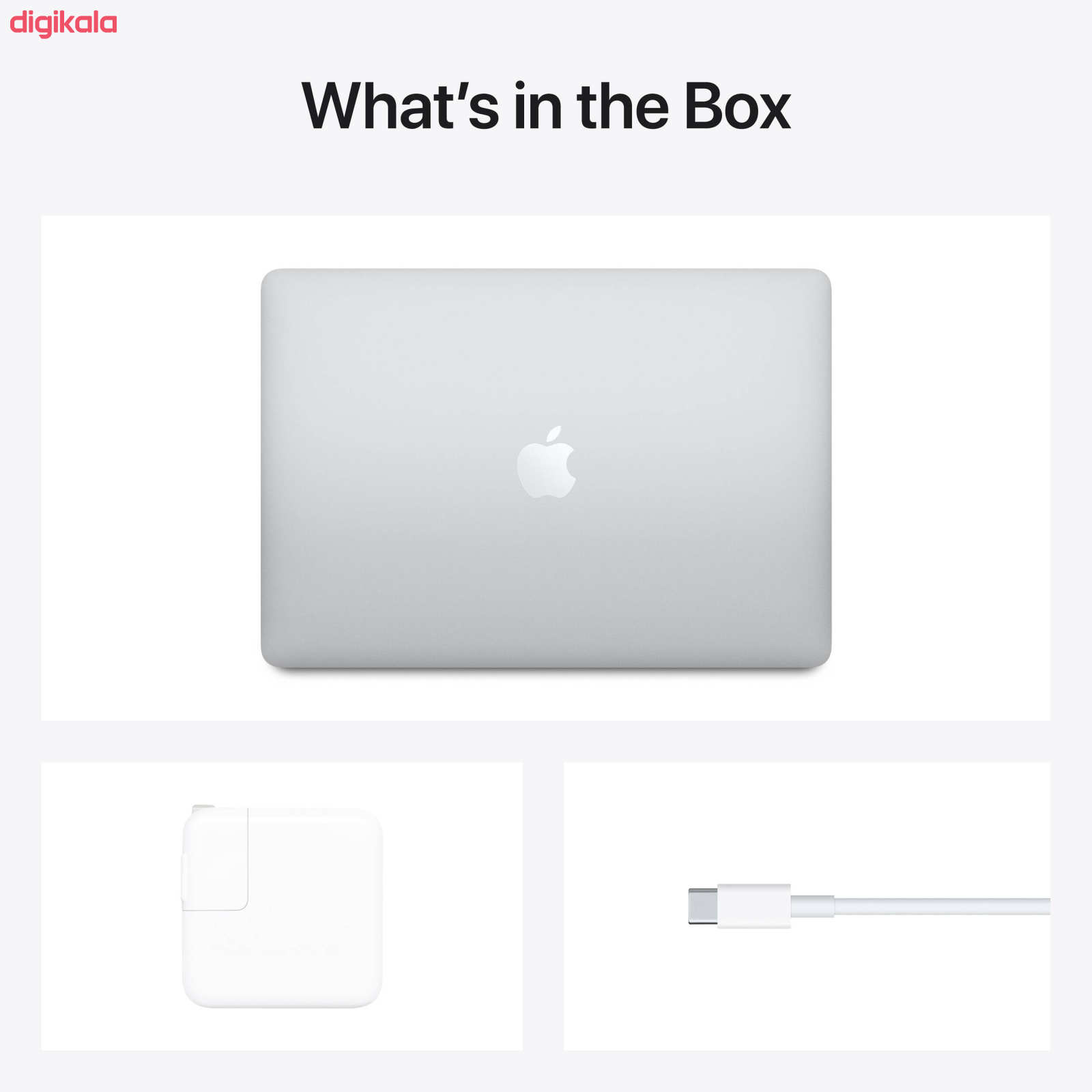 لپ تاپ 13 اینچی اپل مدل MacBook Air MGNA3 2020 main 1 5