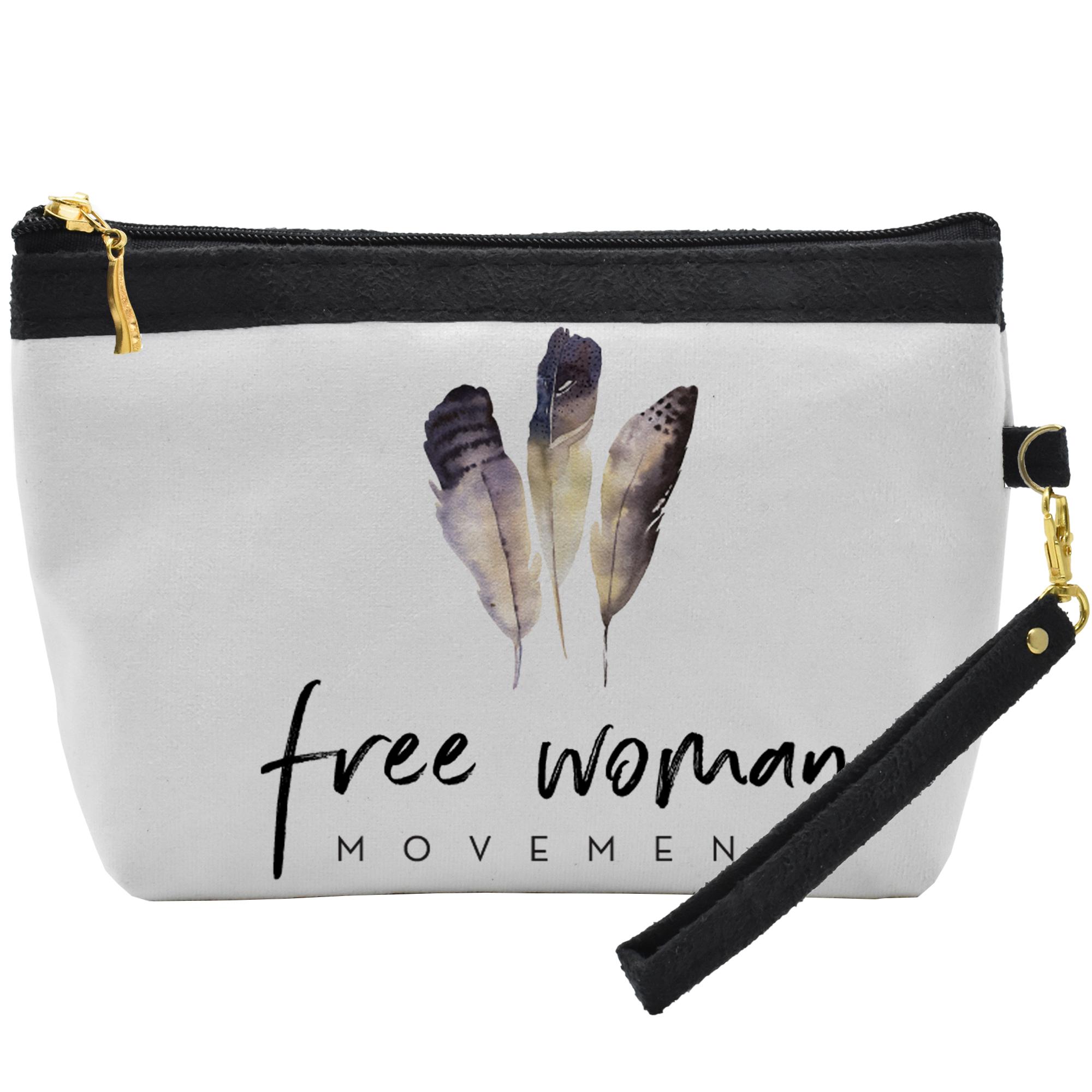 قیمت کیف لوازم آرایشی مدل Free Woman C02
