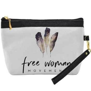 کیف لوازم آرایشی مدل Free Woman C02 |