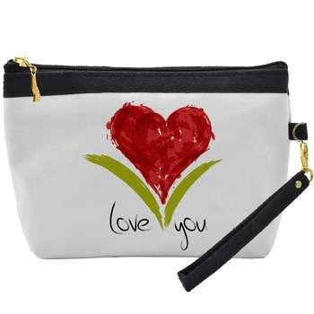 کیف لوازم آرایشی مدل Love you C04 |