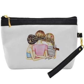 کیف لوازم آرایشی طرح بهترین دوست c05 |