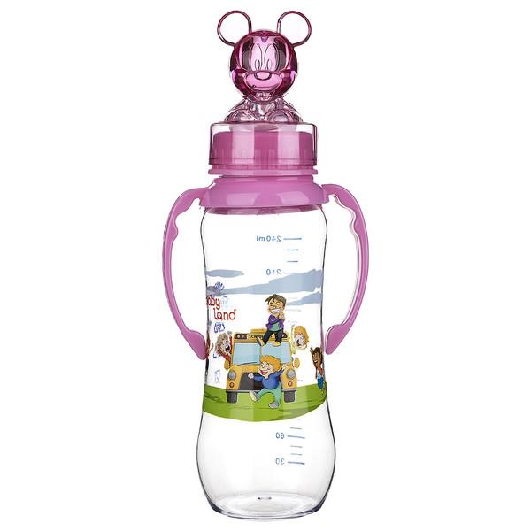 شیشه شیر بیبی لند مدل 243 ظرفیت 240 میلی لیتر