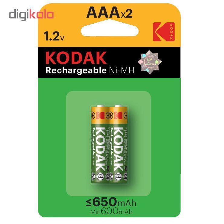 باتری نیم قلمی قابل شارژ کداک مدل Rechargeable 650 mAh بسته ۲ عددی main 1 1