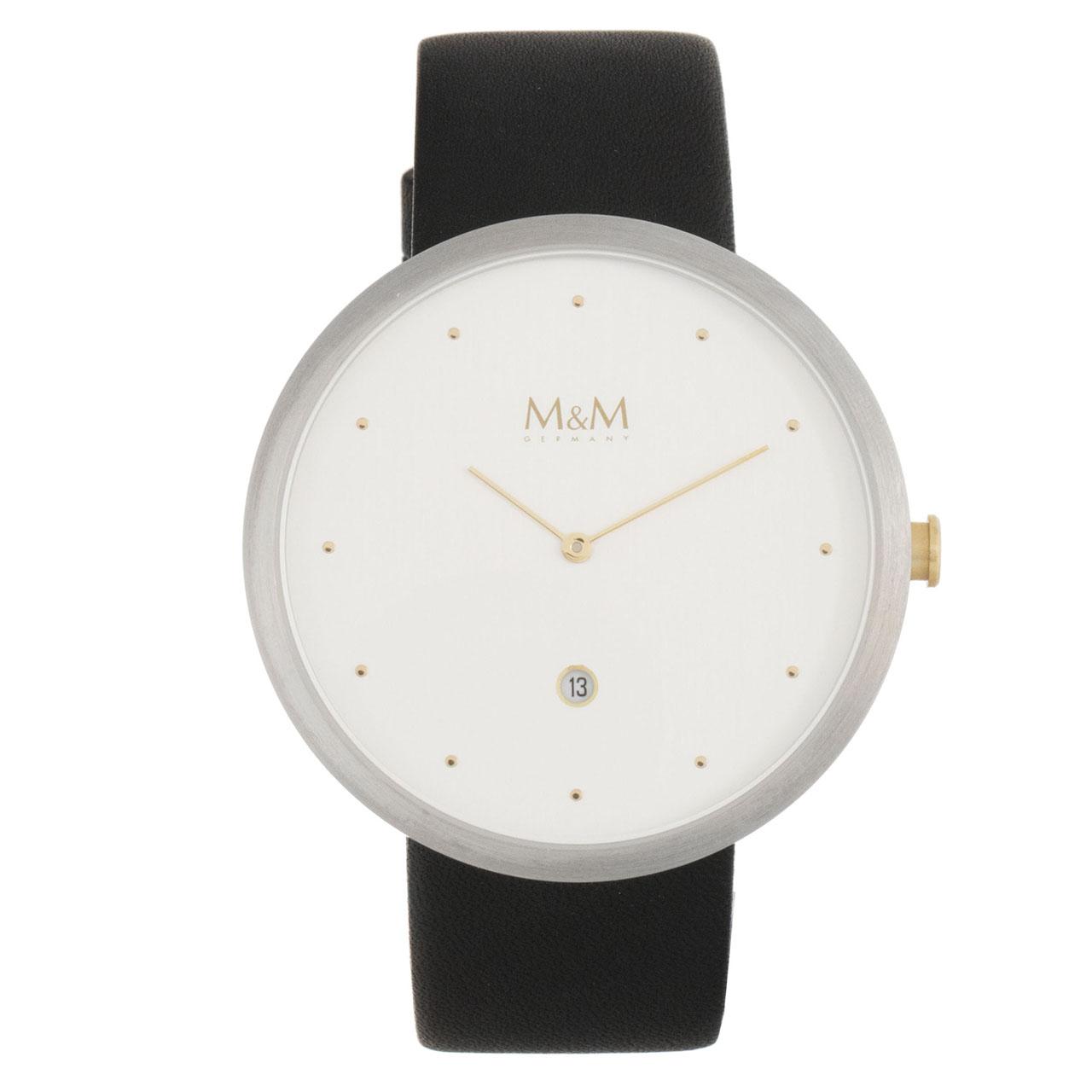 کد تخفیف                                      ساعت مچی عقربه ای زنانه ام اند ام مدل M11881-461