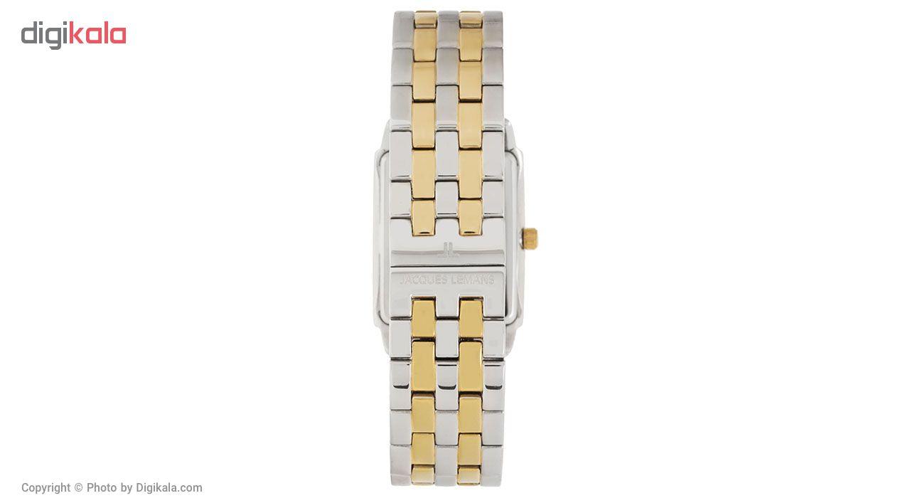 کد تخفیف                                      ساعت مچی عقربه ای مردانه ژاک لمن مدل 1-1608I