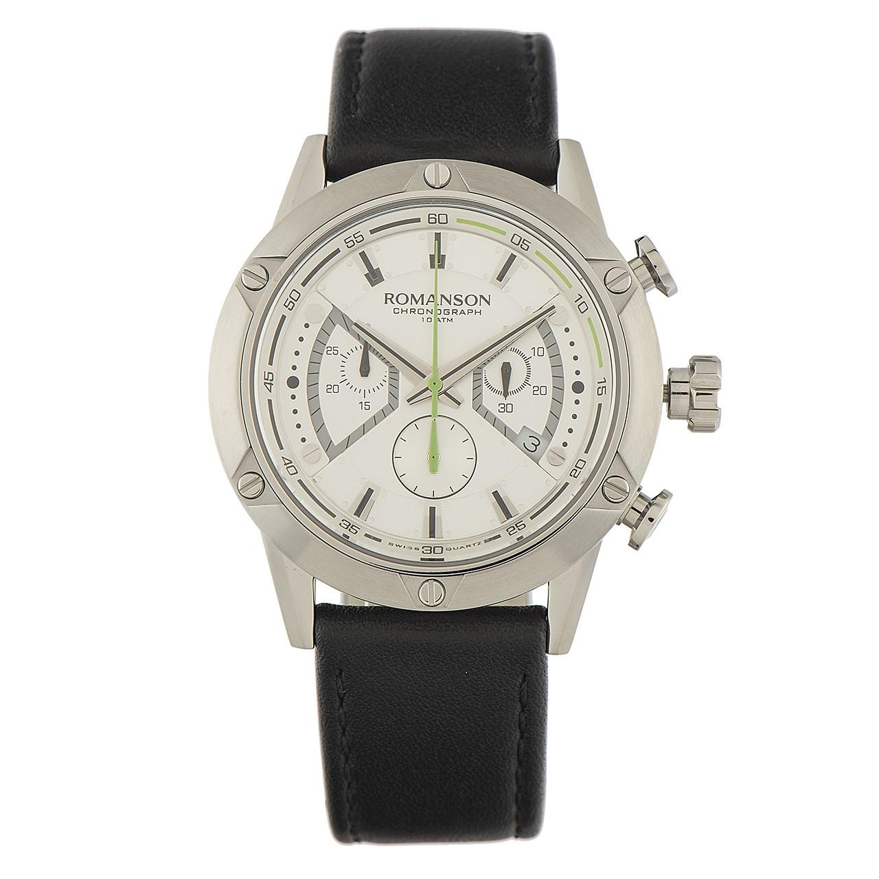 ساعت مچی عقربه ای مردانه رومانسون مدل AL3212HM1WAS2W 17