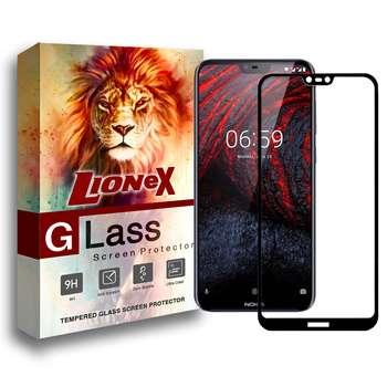 محافظ صفحه نمایش 5D لایونکس مدل USS مناسب برای گوشی موبایل نوکیا 6.1 پلاس / Nokia X6